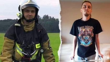 Codziennie pomagał jako strażak-ochotnik - teraz sam potrzebuje naszego wsparcia