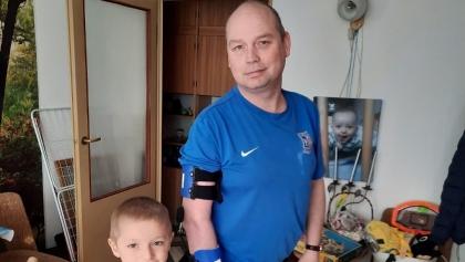 Kibice z trzech miast walczą o zdrowie Pawła Łaszyńskiego