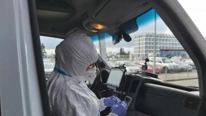 Pasażerowie badani na Ławicy. Przylecieli z włoskiego Bergamo