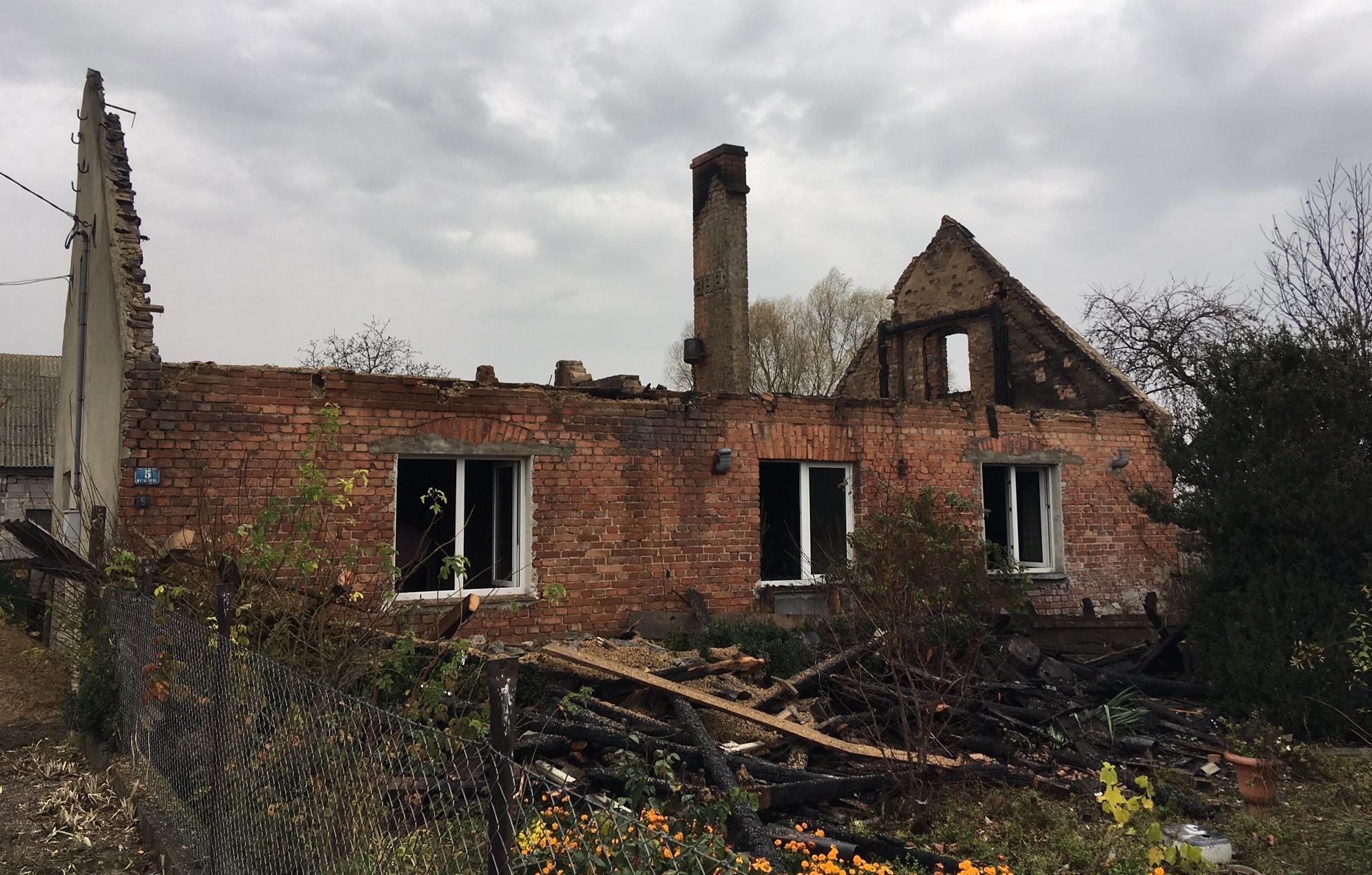 wydartowo trzemeszno rodzina straciła dach nad głową pożar - Rafał Muniak