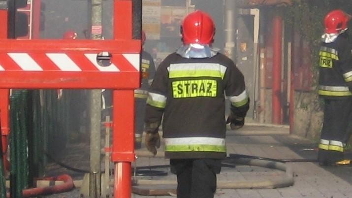 straż strażacy akcja - Adam Michalkiewicz - Radio Poznań