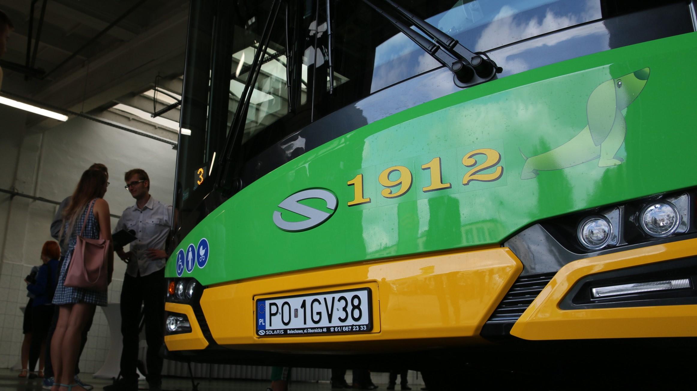 nowe autobusy solaris poznań mpk - Błażej Prochera