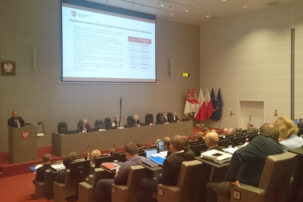 sejmik komisja o zdrowiu - Wojciech Chmielewski